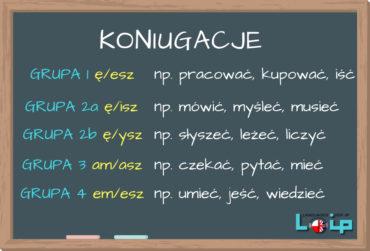 Klasyfikacja polskich czasowników (koniugacje)