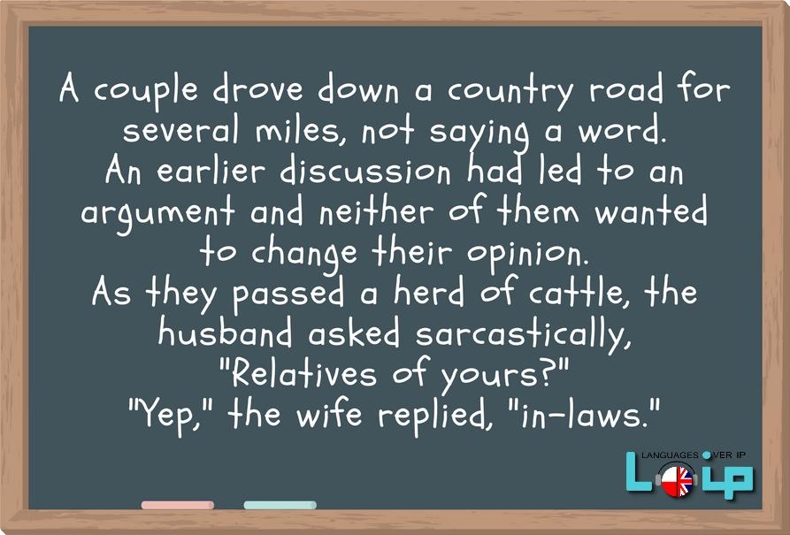 Zabawna historyjka angielski Loip