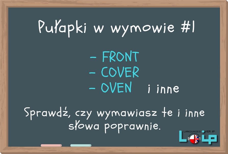 Wyrazy błędnie wymawiane Pułapki w wymowie angielski z Loip samogłoska