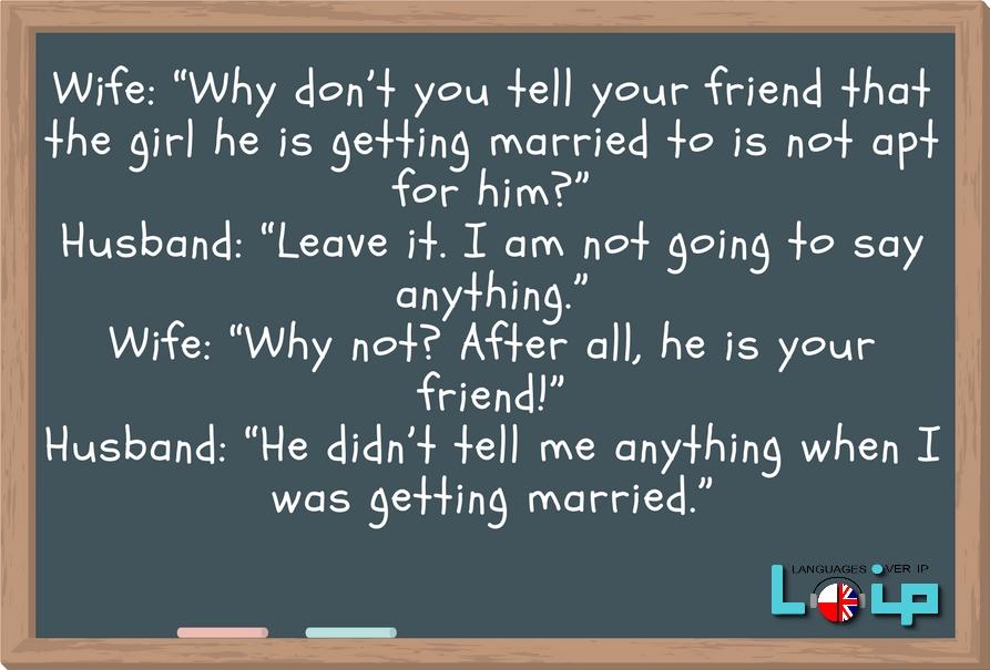 Zabawna historyjka ( English funny short story, joke) angielski na wesoło z Loip