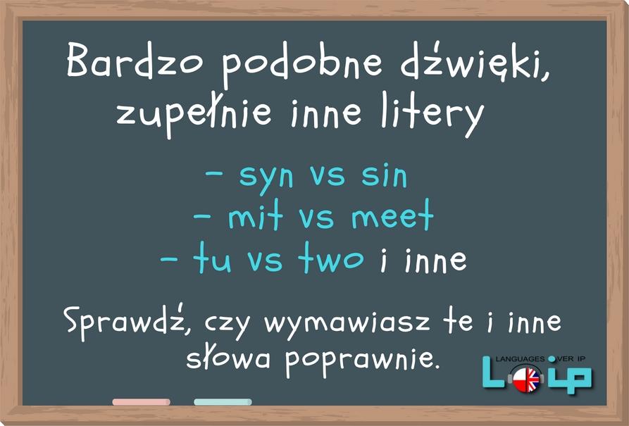 Samogłoski w polskim i angielskim. Pomimo, że żadna angielska samogłoska nie brzmi tak jak polska, spróbujemy przyjrzeć się tym najbardziej podobnym. Angielski z LOIP