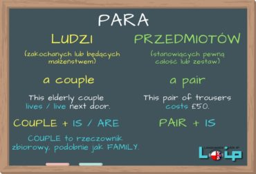 Para: couple czy pair?