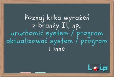 Słownictwo z branży IT