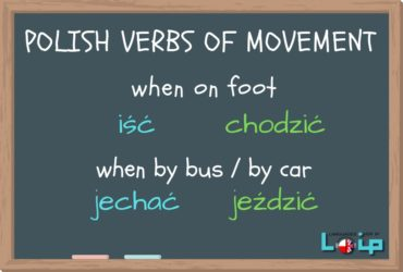 Polish_verbs_of_movement. Polish online with LOIP