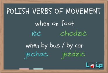 Polish verbs of movement