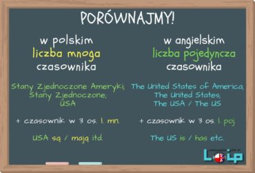 The USA: is czy are?