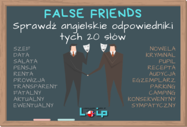 20 słów typu false friends